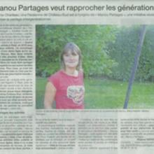 Ouest France Août 2013