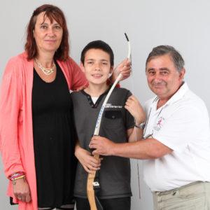 Philippe, Isabelle et Sacha