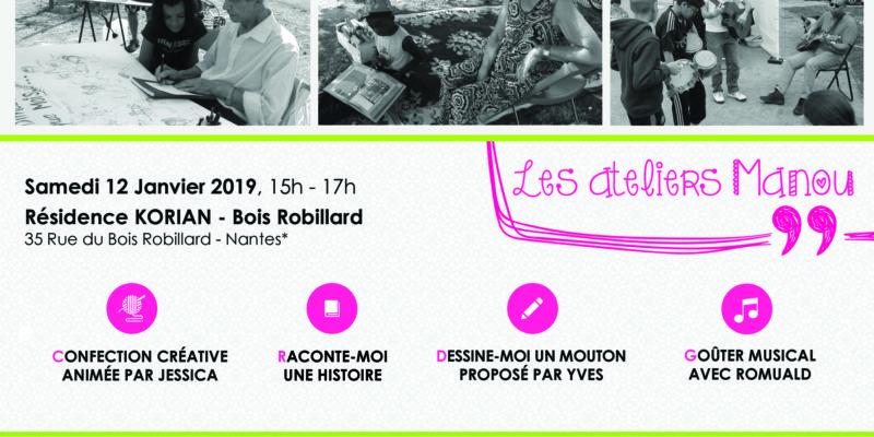 Ateliers Manou 12/01/019 KORIAN