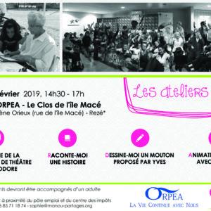 Les Ateliers Manou ORPEA 16/02/2019
