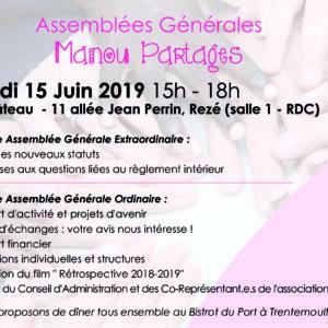Assemblée Générale 15/06/2019