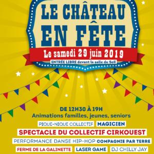Fête du Quartier Château / Moment Manou de Juin 2019